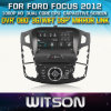 포드 Focus 2012년 Car를 위한 Witson Car DVD DVD GPS 1080P DSP Capactive Screen WiFi 3G Front DVR Camera