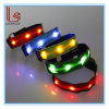 Customed LED Sport Night Running Safety Reflective Nylon Lattice Arm Belt für Protection