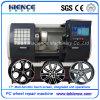 Het Wiel dat van de legering CNC de Machine van de Draaibank met Ce Awr2840PC draait