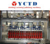 機械(YCTD-YCZX-30K)のまわりで包むりんごジュースの熱い溶解の付着力のカートン