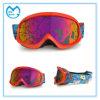 Lunettes protectrices de ski de neige de lunetterie de PC duel d'enduit spécial