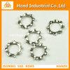 Arandela de bloqueo dentada del acero inoxidable DIN6797