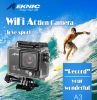 Камера кулачка объектива камеры HD 4k WiFi 1080P/60fps 2.0 LCD 170d действия водоустойчивая