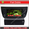 Auto-DVD-Spieler für Pure Android 4.4 Car DVD-Spieler mit A9 CPU Capacitive Touch Screen GPS Bluetooth für FIAT Doblo (AD-6218)