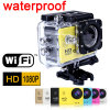 Baixo Price Sport Camera com Wireless WiFi Waterproof HD1080p Sp11b