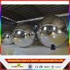 Bola inflable del espejo de la manera de la boda de la etapa de la Navidad del disco grande durable de la decoración