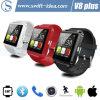 지원 이동 전화를 완전히 하십시오! 2015 새로운 Bluetooth 4.0 Smart Watch (V-8 플러스)