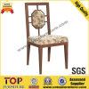 O alumínio do estilo chinês imitou a cadeira de jantar de madeira