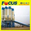 Grande aprontar a planta de tratamento por lotes concreta da mistura, planta de mistura Hzs120 concreta