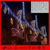 Feiertags-Beleuchtung der Weihnachtsdekorative Baumwollkugel-Zeichenkette-LED