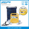 10W Portable Outdoor Solar Lighting Kit com FM Radio (UNIV-7DSR)