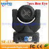 소형 7PCS RGBW 4in1 Bee Eyes Moving Head Lights