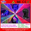 Tête mobile à rayon laser de disco du DJ pour l'éclairage d'étape