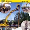 Programa piloto de martillo de pila para el nuevo producto del excavador hecho en China