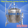 High Pressure pneumático Cooking Pot/Kettle para Meat