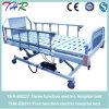 Cama de hospital elétrica de função tripla