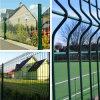 庭のための中国PVC Voated Bending Fence Used