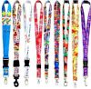 Detachable Buckle를 가진 주문 Printed Lanyards