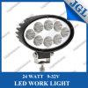 carro ligero campo a través de conducción de la luz LED del trabajo de 12/24V 24W LED