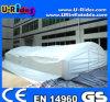 Inflatable bianco Tent da Air Sealed Making