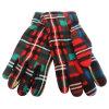 Теплые перчатки зимы перчаток ватки способа (FG-070024)