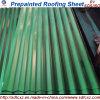 Feuille en acier ondulée galvanisée de toiture enduite par couleur du prix bas PPGI