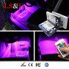 Kit ligero de Underdash del Striplight interior ahorro de energía del coche 36RGB
