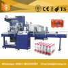 Machine à emballer automatique de rétrécissement pour des bouteilles et des bidons d'animal familier