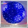 2017 휴일 훈장 파란 색깔 LED 크리스마스 3D 주제 빛 공