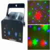 緑の赤い青のレーザー光線の音段階のディスコDJのための実行中LEDの段階ライト