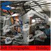 Polietileno máquina Flexo Impresión con 6 colores