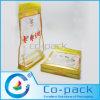 Sac de empaquetage transparent en plastique fait sur commande de datte sèche