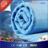 Одеяло 100% полиэфира рынка EU чисто голубое электрическое Heated