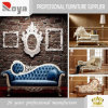 Muebles antiguos blancos de marfil del dormitorio del estilo europeo antiguo (EX01)