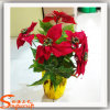 New artificial Design Artificial Flower para Christmas Decoration