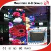 Muestra redonda al aire libre de la alta calidad P10 LED TV