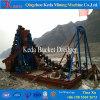 採鉱のディーゼル機関の金の浚渫船