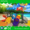 Campo de jogos ao ar livre plástico das crianças para o parque de diversões