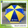 parasol de playa recto durable de acero del jardín de la venta al por mayor de los 9FT