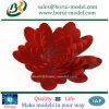 Creación de un prototipo plástica impresa 3D del Rapid de la flor de SLA/SLS