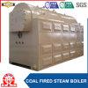 Caldaia a vapore che non dà fumo del carbone della griglia della catena del tubo di fuoco orizzontale