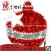 LEDの軒のXmasの装飾のための装飾的なIP65チンサルのギフトの鐘のモチーフロープのクリスマスの照明