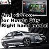 Android поверхность стыка системы навигации GPS видео- для righthand города Хонда привода, касатьется Android соединению зеркала вид сзади навигации системы
