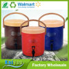 Nuevo barril aislado 13L del té de la preservación del calor del compartimiento del té de la leche