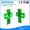 Signe vert imperméable à l'eau extérieur de pharmacie de Hsp0095 80*80cm 9mm DEL