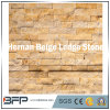 Piedra de mármol amarillenta de la cultura de la piedra de la repisa de Hernan para la pared de la característica