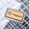 Sostenedor de cuero promocional impreso insignia de la tarjeta de visita