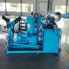 Câmara de ar espiral que faz a máquina para o duto de ventilação da mina que dá forma à manufatura