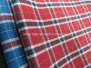 T-/Cgarn färbte Popelin-Check-Gewebe für Hemd