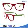 Gafas de sol coloridas de la promoción del marco para unisex